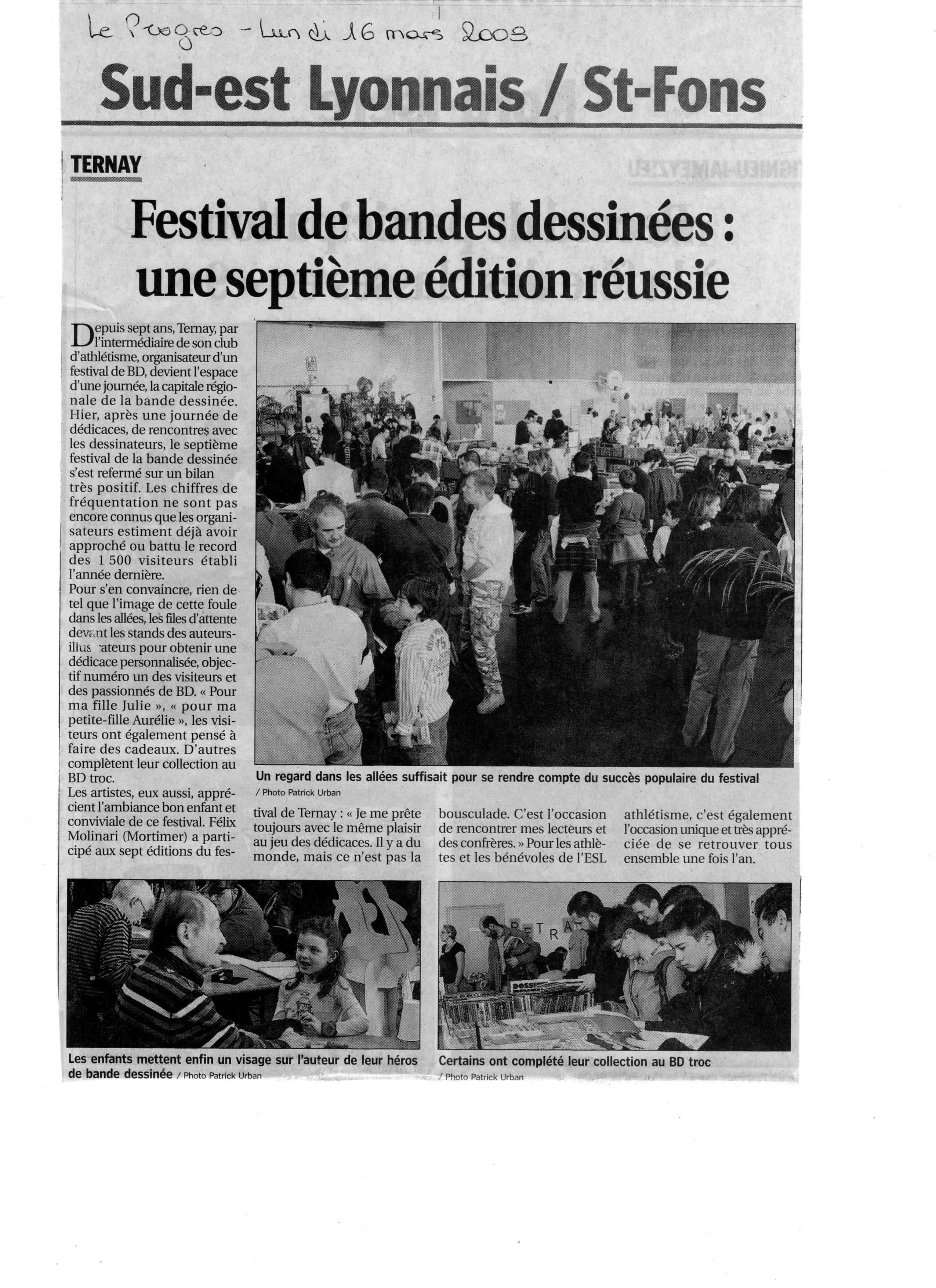 Article 7ème festival
